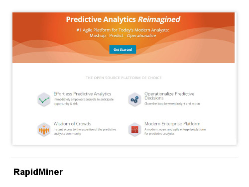 Image of RapidMiner