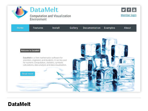 Image of DataMelt