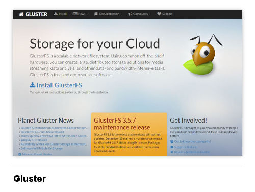 Image of Gluster