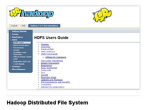 Image of Hadoop Distributed File System