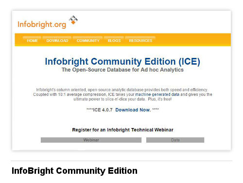 Image of InfoBright