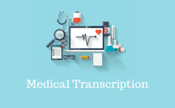 image of medical transcription services