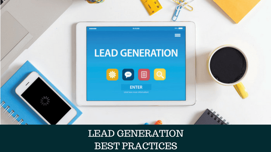 image for lead generation in tablet